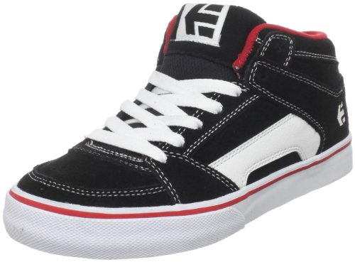 Etnies Youth Rvm Vulc Black/White/Red Fashion Sports Skate Shoe 4301000083 4.5 UK