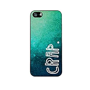Vibhar printed case back cover for Apple iPhone 4 Crappy