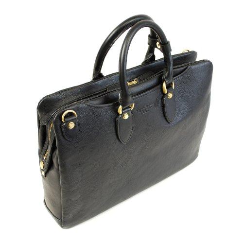 COMPLEX GARDENS (青木鞄) 義淵 ギエン:A4サイズ 天ファスナー 2way ブリーフケース[4136] (ブラック)
