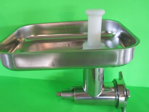 #12 Meat Grinder attachment for Hobart a200 d300 a200t h600 a120 mixer *PLUS* (3) sausage stuffer tubes STAINLESS STEEL