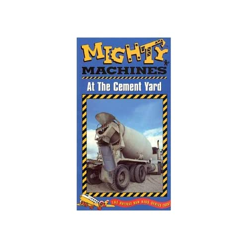 Amazon.com: Mighty Machines - At The Cement Yard