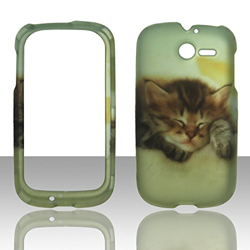2d-kitten-huawei-ascend-y-m866-tracfone-uscellular-case-cover-hard-phone-case-snap-on-cover-rubberiz