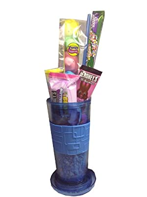 Premium Easter Candy Gift Basket In A Reusuable Cup by Artistix Designs Gift Baskets