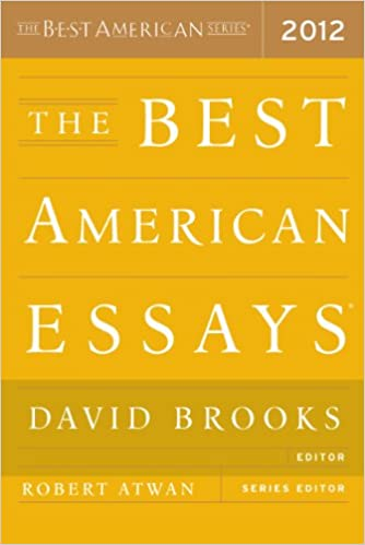 The Best American Essays 2012 - Google Books