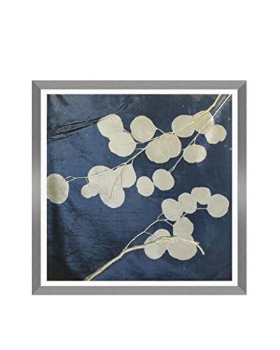 Aviva Stanoff Eucalyptus Hand-Pressed on Twilight Velvet Artwork