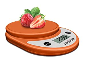Meglio Precision Plus Digital Multifunction Kitchen And Food Scale, 11 Lb 5 Kg Capacity,... by Meglio