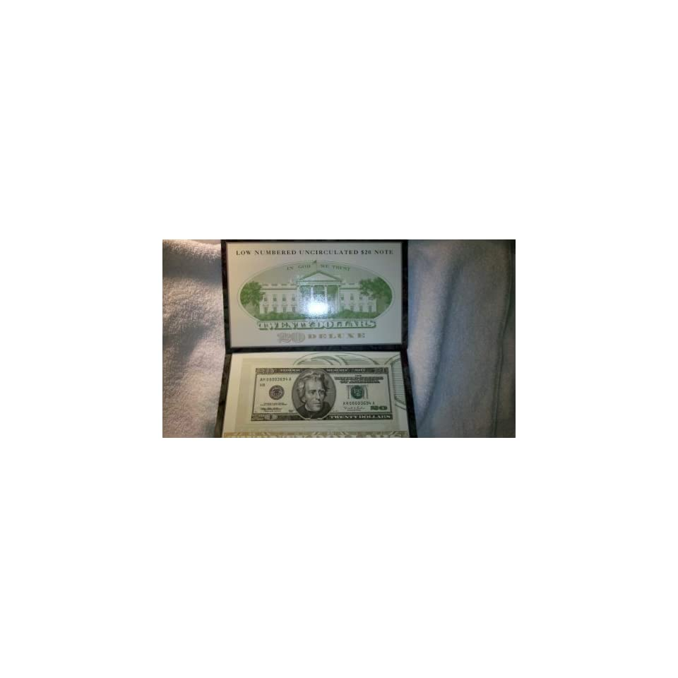 Low Numbered US Mint $20 Dollar Bill Series 1996 U.S. Paper Money
