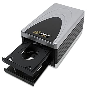 Acumen Disc EASY COPY 1 Burner/Single Target DVD CD Duplicator Without LCD (Standalone Video & Audio Disc Duplication System)