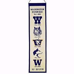 Buy NCAA Washington Huskies Heritage Banner by Winning Streak