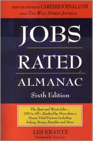 Jobs Rated Almanac: The Best and Worst Jobs - 250 in All - Ranked by More Than a Dozen Vital Factors Including Salary, Stress, Benefits, and More (Jobs Rated Almanac, 6th Ed, 2002)