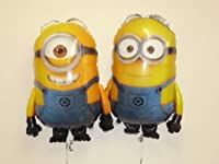 "Set Of 2 - 30"" Despicable Me Minion Foil Balloons Dave And Stuart (CS126+CS141) from BALLOONSHOP"