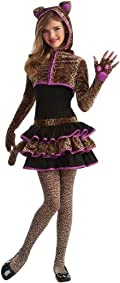 Leopard Tween Costume Brown Tween Medium