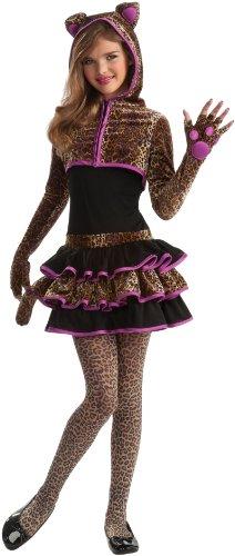 Rubie'S Drama Queens Tween Leopard Costume - Tween Medium (2- 4) front-800357