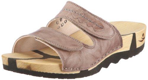Chung Shi Wooccoli Barbara Sandals Women brown Braun (taupe) Size: 35