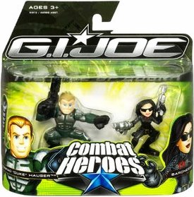 G.I. Joe The Rise of Cobra Combat Heroes 2-Pack Conrad Duke Hauser and Baroness