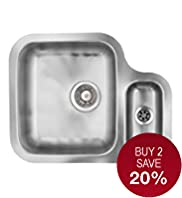 Fenchurch Stainless Steel 1 Sink