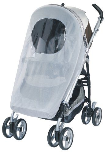 Peg Perego Mosquito Netting For Perego Strollers, Grey front-3722