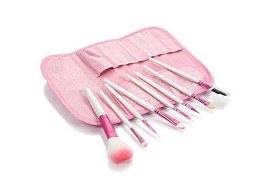 SMO 8pcs brosse pinceau de cosmétique maquillage pro set kit