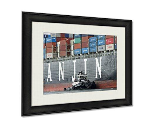 ashley-framed-prints-tugboat-zfour-assisting-hanjin-united-kingdom-to-maneuver-out-of-the-port-of-bl