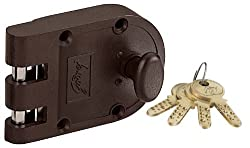 Godrej Locks Ultra Vertibolt Texture 1CK (Brown) (Free Installation)