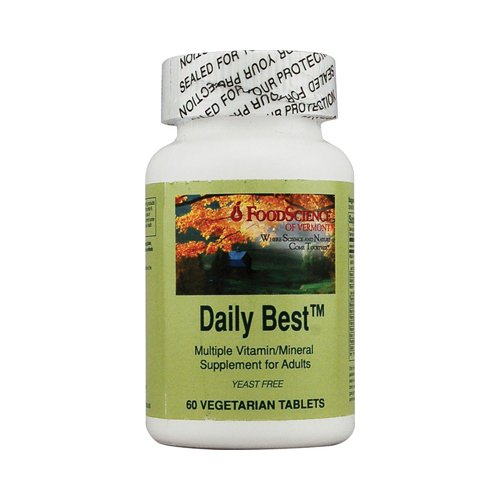 Foodscience Of Vermont Daily Best Veg Tablets