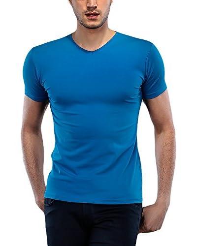 Philip Loren T-Shirt Manica Corta [Blu]