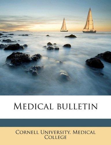 Medical bulletin Volume v. 09 n.04