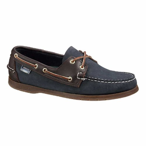 Sebago MENS ENDEAVOUR B72326 - 9.5 UK - Navy/Brown