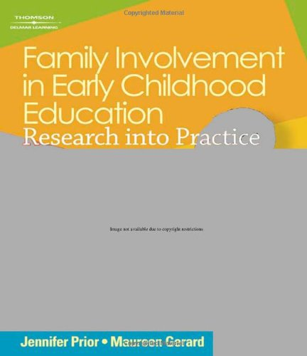 Family Involvement in Early Childhood Education: Research into Practice