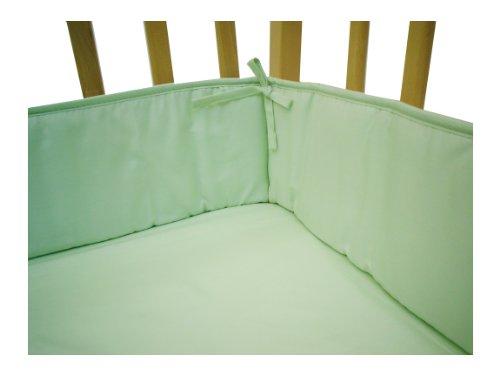 Imagen de American Baby empresa 100% algodón percal Portátil / Mini Cuna Bumper, Apio