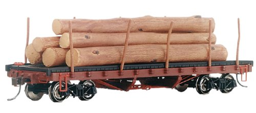 Bachmann Trains ACF 40' Log Car with Logs (1906-1935)