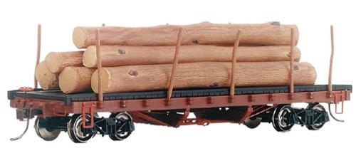 Bachmann Trains ACF 40' Log Car with Logs (1906-1935)