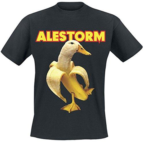 Alestorm Banana Duck T-Shirt nero S