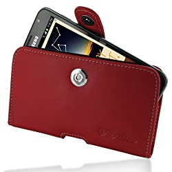 PDair P01 Red Leather Case for Samsung Galaxy Note GT-N7000 / SGH-I717