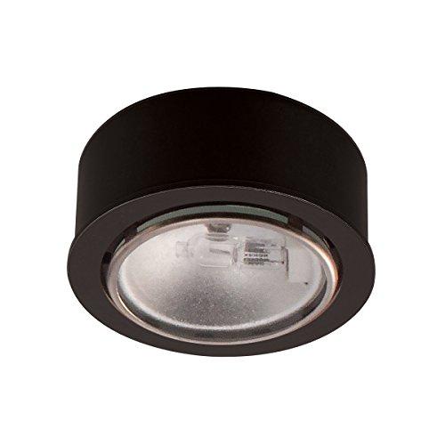 Wac Lighting Hr-86-Bk Low Voltage Round Xenon Button, 12V 20W