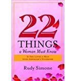 img - for [(22 Things a Woman Must Know If She Loves a Man with Asperger's Syndrome)] [Author: Rudy Simone] published on (May, 2009) book / textbook / text book