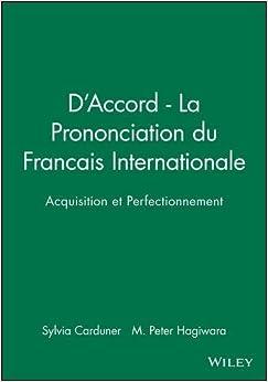 Amazon.com: D'Accord - La Prononciation du Francais ...