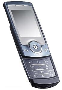 samsung sgh u 600 t l phone mobile clapet coulissant bleu crystal high tech. Black Bedroom Furniture Sets. Home Design Ideas