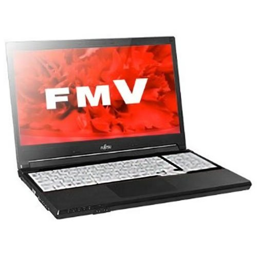 FUJITSU 15.6 型 ノートパソコン 【 Office2013 Personal / Win7Pro 32bit (Win10Pro-DG) / Core i5-4310M(2.7GHz) / 4GB / 500GB / DVD-Sマルチ / テンキー / 】 FMVA1001FP