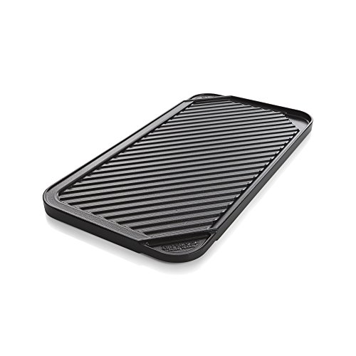 Crate And Barrel Reversible Ceramic Double Griddle