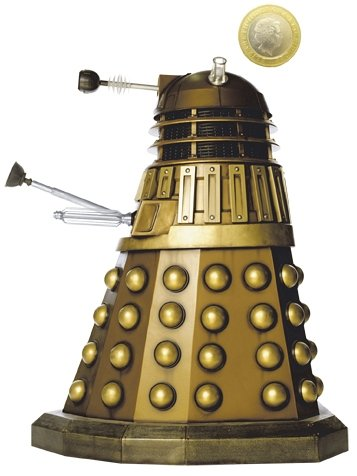 Doctor Who 3D Dalek Money Bank