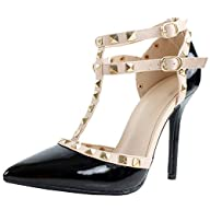 Fabulous Designer's Women's Peep Toe Studded High Heel Pumps