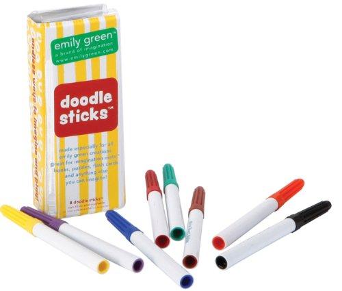Emily Green Doodle Sticks - 1
