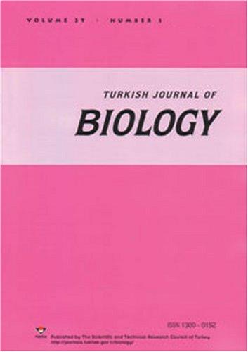Turkish Journal of Biology = Turk Biyoloji Dergisi