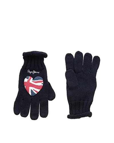 Pepe Jeans London Guantes Patri Gloves Azul Oscuro