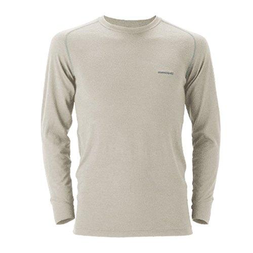 モンベル スーパーメリノウールM.W.ラウンドネックシャツ メンズ