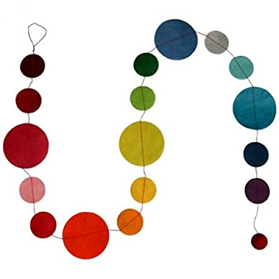 Lamali 5' Dot Garland, Multi