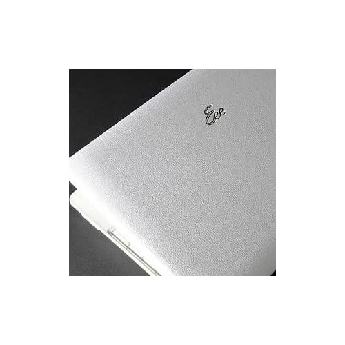 Asus Eee PC 1008HA Laptop Cover Skin [White Leather]