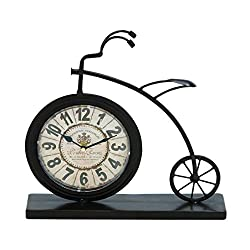 Woodland Imports 92204 The High Wheel Bicycle Designed Desk Clock