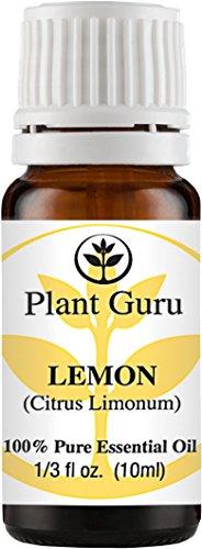 Lemon Essential Oil. 10 ml. 100% Pure, Undiluted, Therapeutic Grade. (Lemon Peel Oil compare prices)